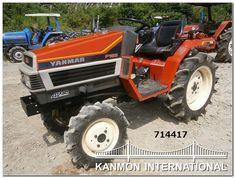 Yanmar Tractor, Lawn Mower, Tractors, Outdoor Power Equipment, Lawn Edger, Grass Cutter, Garden Tools