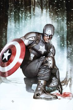 marvel Captain America: Living Legend by Adi Granov Comic Book Characters, Comic Book Heroes, Marvel Characters, Comic Character, Comic Books, Marvel Comics, Marvel Heroes, Marvel Rpg, Marvel Cinematic