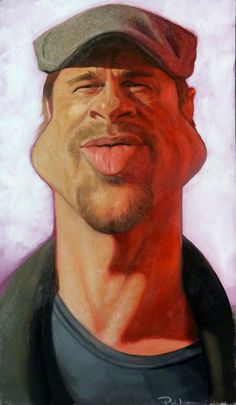Famous Caricatures & Portraits by Paul Moyse  http://www.bcreative.al/famous-caricatures-portraits-by-paul-moyse/