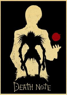 Death Note Posters Retro Posters - Q027 9