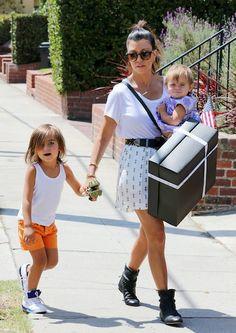 Kourtney, Mason and Penelope.