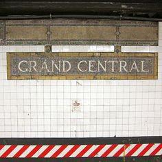 Grand Central Subway Sign (photography,architecture,grand central station,grand central subway,subway,midtown,new york,ny,nyc)