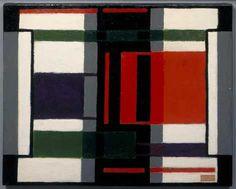 Study. Vilmos Huszar, 1921. (Centraal Museum, Utrecht.) De Stijl movement.