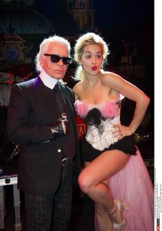 Ditching the baggy clothes! Rita Ora shows off her legs in Burlesque-style outfit as she performs in Monaco Baggy Clothes, Signature Look, Rita Ora, Burlesque, Karl Lagerfeld, Girl Crushes, Different Styles, Celebrity News, Supermodels