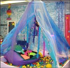 Sensory Wonder House at Hancock County Schools  Would love to facilitate a sensory space in my classroom one day