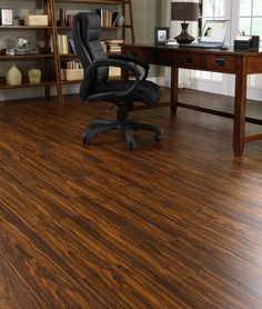 FF115 Tigerwood    Free Fit products are heavier and more stable than other luxury vinyl products. The product itself is flexible, which enables it to conform to contours in the subfloor. Free Fit LVT is also completely water proof. Therefore it is suitable for a wet environment. Since this is a floating floor which is not secured to the subfloor, it can really be used again and again elsewhere!
