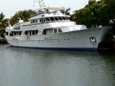 Seagull, a fine example of a classic Feadship yacht.