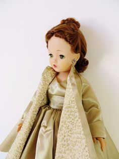 Madame Alexander Cissy Doll Vintage Red Head Tagged Dress w Coat & Lingerie 1956 #DollswithClothingAccessories
