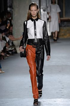 Trousers in a Twist - Proenza Schouler Spring 2015-Wmag