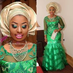 It is Fashion Double Delight! Get Gorgeous with Eye-Catching Ankara & Aso-Ebi Styles - Wedding Digest Naija It is Fashion Double Delight! Get Gorgeous with Eye-Catching Ankara & Aso-Ebi Styles - Wedding Digest Naija African Wear, African Women, African Dress, African Style, African Beauty, African Lace, African Attire, Wedding Outfits For Family Members, Ankara Styles For Kids