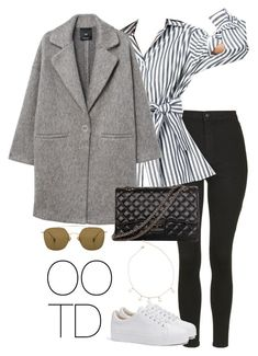 """""""OOTD 03-22-2018"""" by theeuropeancloset on Polyvore featuring Topshop, MANGO, Bershka, Encanto and Ahlem"""