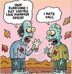 Zombie humor.  LOL!
