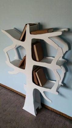 Handmade Tree Bookshelf Perfect for by EnchantedHomeDesigns