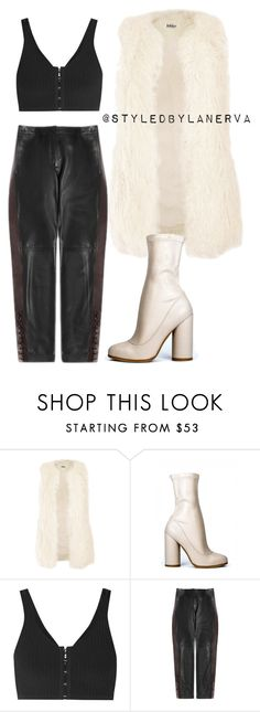 """""""Untitled #856"""" by amanda-lanerva ❤ liked on Polyvore featuring Jakke, T By Alexander Wang and Loewe"""