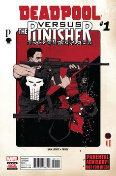 Deadpool vs. The Punisher #1 - Bullet To the Brain (Issue)