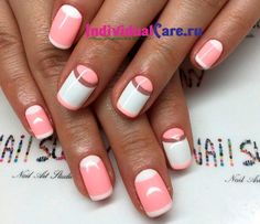 Лунный дизайн ногтей лаками