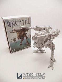 Nuthin' But Mech Site B: Wachtel Model from Kallamity and Industria Mechanika