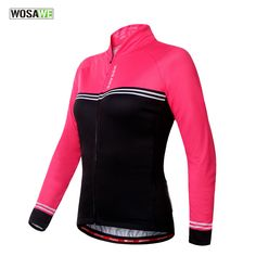 WOSAWE Long Sleeves cycling jersey 2016 ropa ciclismo hombre mtb bike maillot mountain bike Women Female cycling Jacket