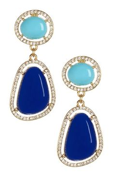Olivia Welles Athena Duo Earrings by Assorted on @HauteLook