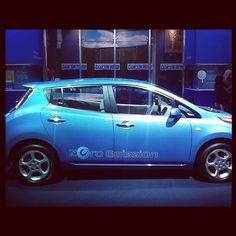 The @Nissan Leaf. Pure electric, zero emission! We call that a smart green city car!