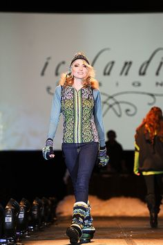 Icelandic Designs featured at #SIA12 Snow Fashion & Trends Show