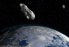 Could fossils from Earth could be discovered on the moon? Meteorite strikes may have transported microscopic evidence.