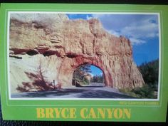 Bryce Canyon Utah Red Canyon Tunnel
