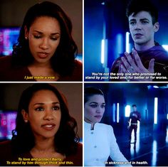 The Flash 4x09 I didn't need my heart. That's fine