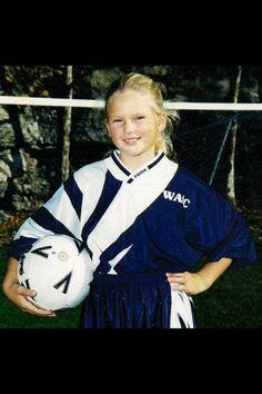Baby Taylor Swift, she played soccer too! :)
