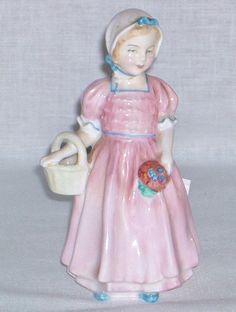 SOLD Royal Doulton TINKLE BELL Girl Figurine HN 1677 Flawless FREE SHIP w/BIN
