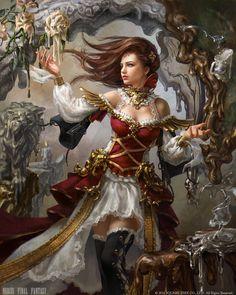 Mobius Final Fantasy - Melter, Laura Sava on ArtStation at https://www.artstation.com/artwork/LkQ6K