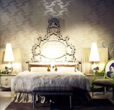 Modern Baroque Bedroom