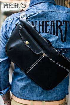 Leather Belt Bag, Leather Crossbody Bag, Hip Bag, Leather Projects, Bangkok Thailand, Leather Accessories, Canvas Leather, Leather Working, Hats For Men