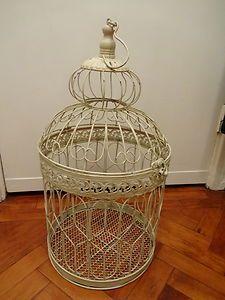 Vintage style bird cage.