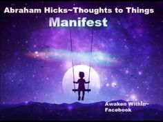 Abraham Hicks ~Do it for the emotions to get the Manifestation. - YouTube
