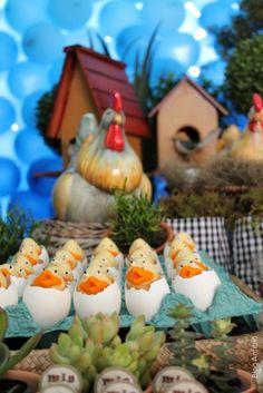 Festa na Fazenda - Docinhos na Casca do Ovo