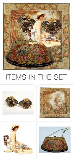Tapestry by pattysporcelainetc on Polyvore featuring art, vintage and country