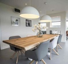 – – Esszimmer ideen ideas ideas The post ideas appeared first on dining room ideas. Dining Room Walls, Dining Room Design, Living Room Decor, Balcony Chairs, Dining Table Lighting, Open Plan Kitchen Living Room, Dining Room Inspiration, Home And Living, Sweet Home