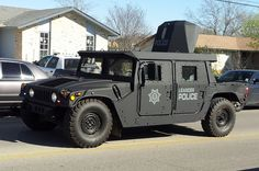 Leander, TX Police APC Hummer | Scene of a SWAT call out in … | Flickr