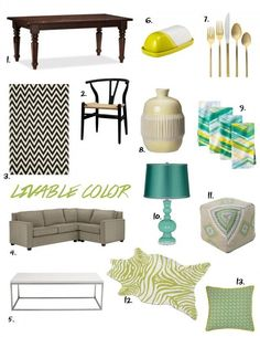 From My Home to Yours: Livable Color from @Michael Wurm, Jr. {inspiredbycharm.com}. Get the full post on our Style Spotters blog: http://www.bhg.com/blogs/better-homes-and-gardens-style-blog/2014/03/17/from-my-home-to-yours-livable-color/