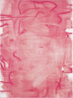Christopher Wool / Untitled. 2005 Silkscreen ink on linen104 X 78 inches(264.16 X 198.12 cm) VIA