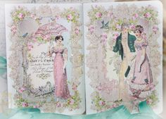 Our series on Jane Austen....the pink versions.....here at PaperNosh.com