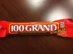 The only candy bar that's worth 100 Grand.