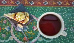 Fruit Infusion Tea & Carrot Cake for both rainy and sunny days.