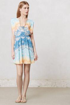 Boho Surplice Dress - Anthropologie