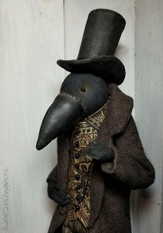 The Goode Wife of Washington County: Impeccable Stacey Walsh Primitive Folk Art Raven Art Doll Primitive Folk Art, Primitive Crafts, Country Primitive, Primitive Snowmen, Primitive Christmas, Country Christmas, Christmas Christmas, Wood Crafts, Americana Crafts