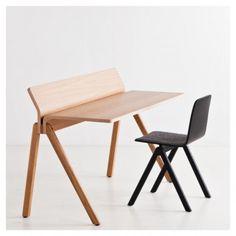 Copenhague Moulded Plywood Schreibtisch