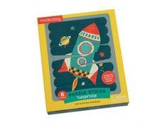 Puzzle sticks - raketa Sticks, Puzzle, Puzzles, Riddles, Craft Sticks, Puzzle Games