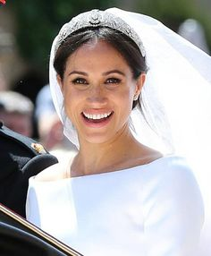 The glowing bride the Duchess of Sussex