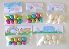 Easter Gift Bag Toppers : The Organised Housewife : Ideas for organising and Cleaning your home